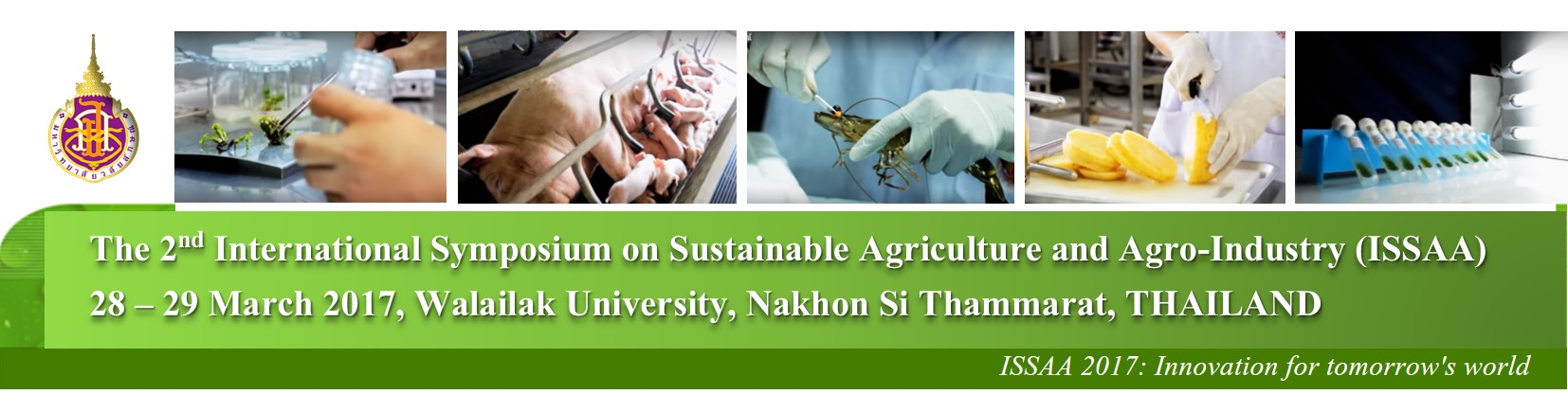 International Symposium on Sustainable Agriculture and Agro-Industry